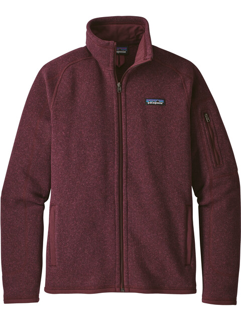 Patagonia Better Sweater Jacket Women dark currant
